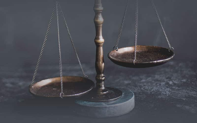 Golden Coloured Law Scale