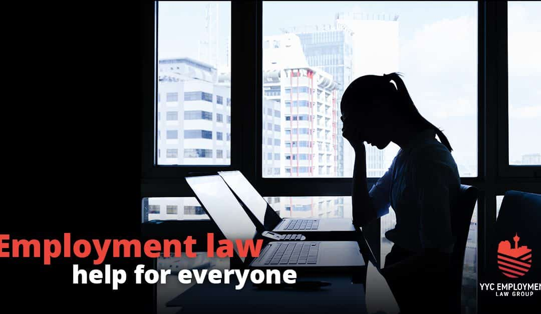Employment Lawyers Calgary | Wrongful Dismissal Lawyers Calgary